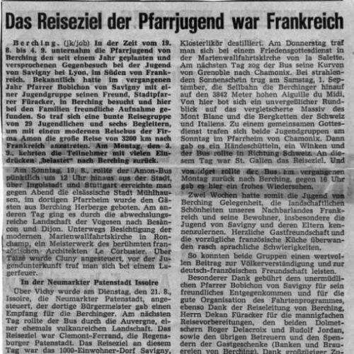 Artikel im Neumarkter Tagblatt