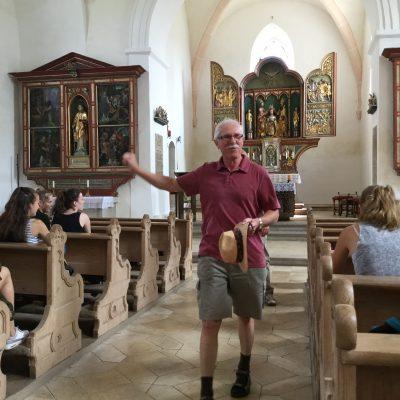 Besichtigung der Lorenzkirche