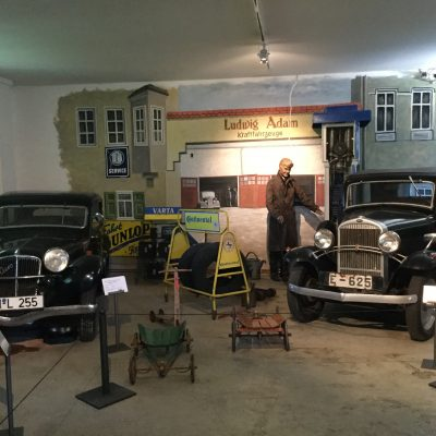Im Technikmuseum Kratzmühle